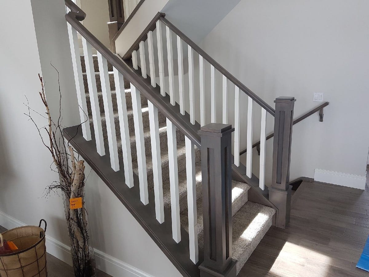 Stairs Painting | Interior Painting | Straight Edge Painting